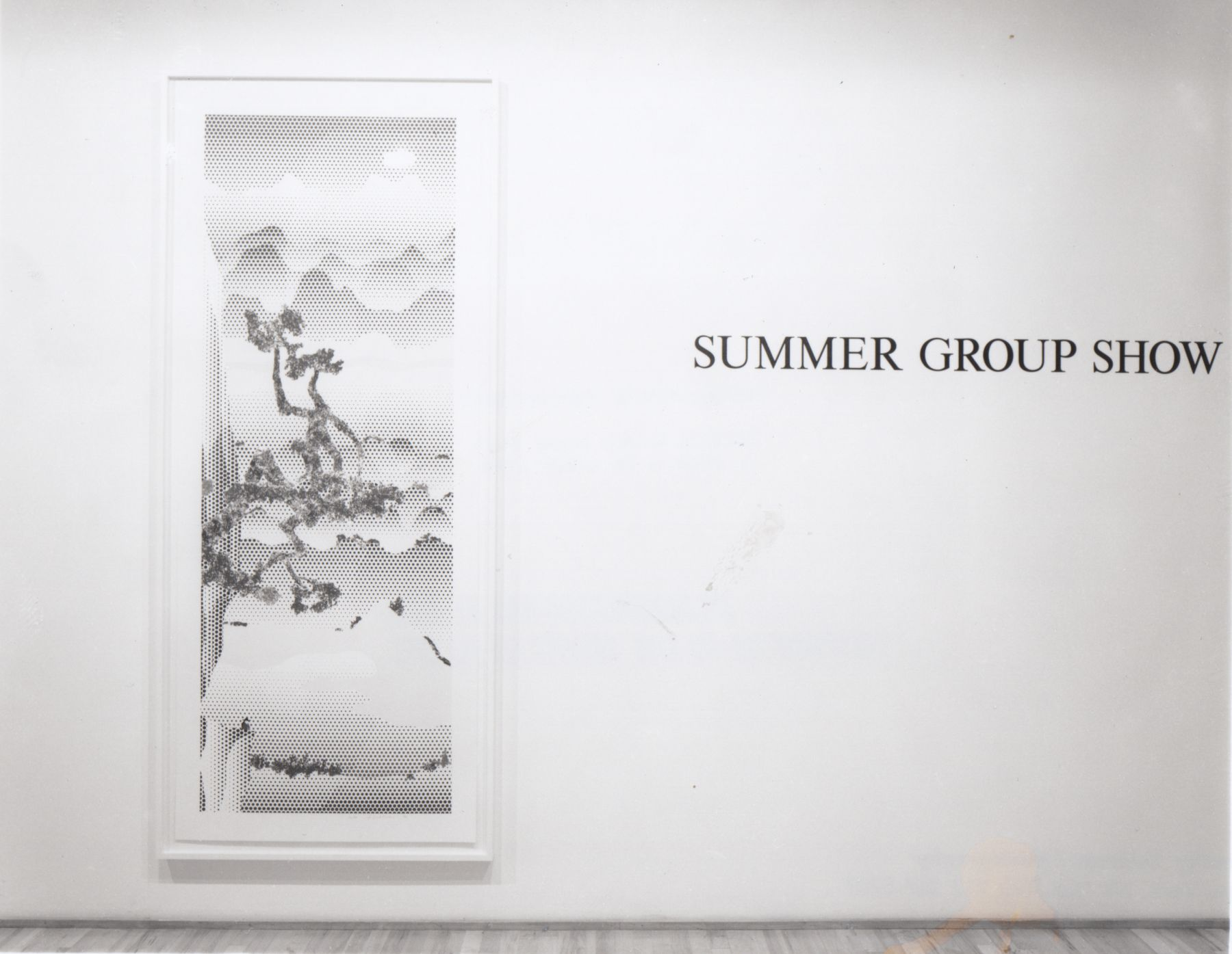 Installation view, Summer Group Show, 578 BROADWAY