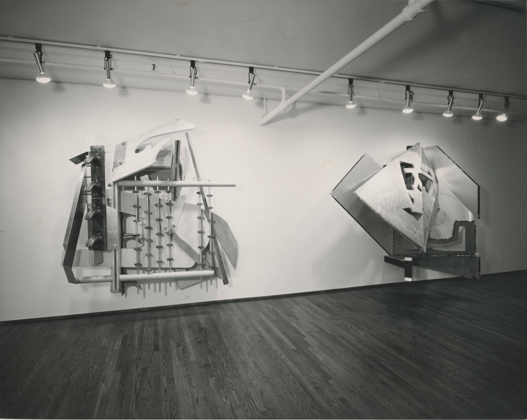 Installation view, Frank Stella, 420 WEST BROADWAY.