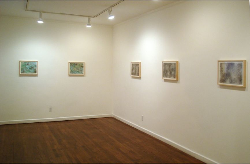 Installation view, Emi Fukuzawa: Landscape Transcended, 18 EAST 77.