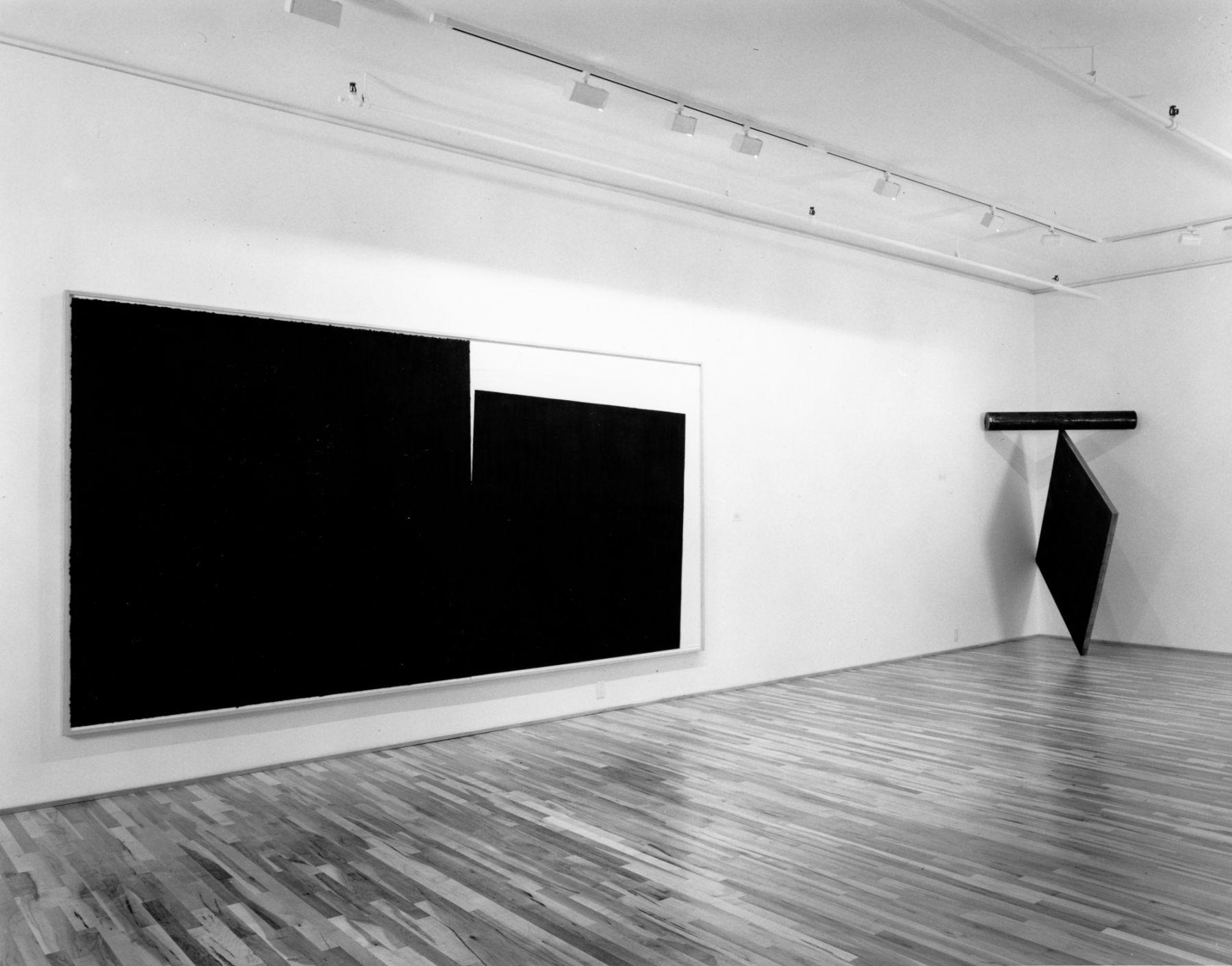 Installation view, Bruce Nauman, Richard Serra, 578 BROADWAY.