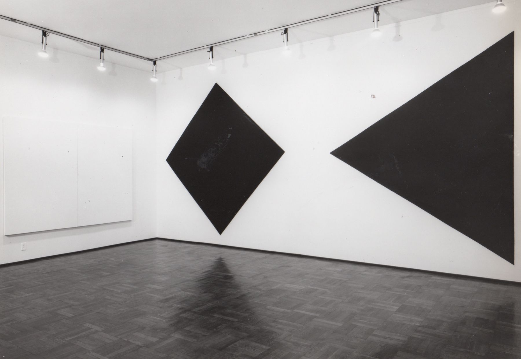 Installation view, Group Exhibition: Black and White, 4 EAST 77.