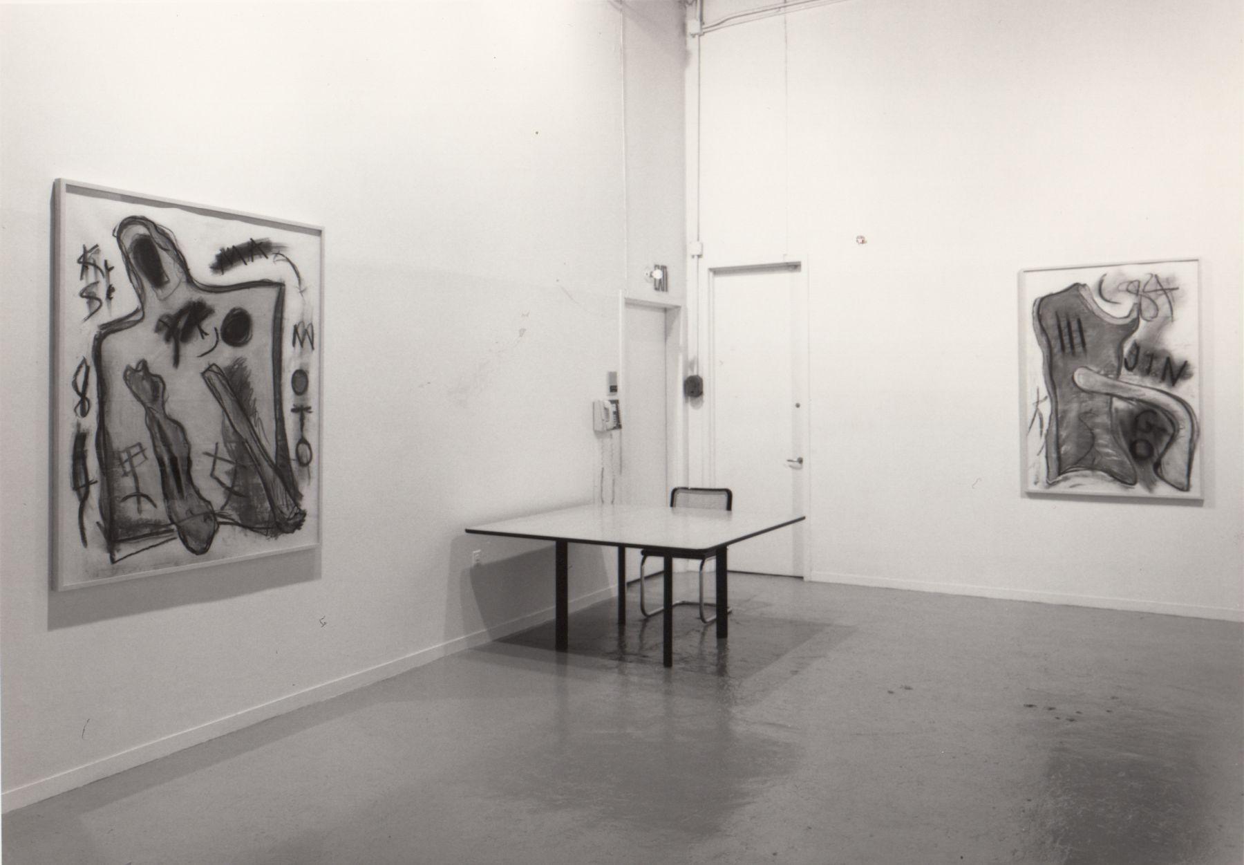 Installation view, Keith Sonnier, 142 GREENE