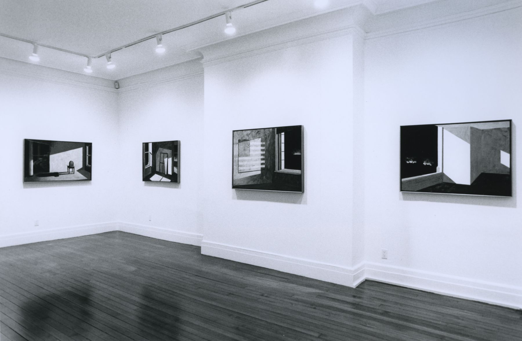 Installation view, Robert Morris: Small Fires and Mnemonic Nights, 18 EAST 77.