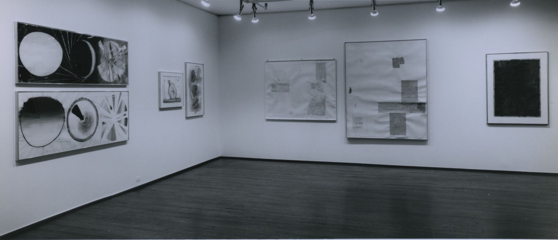 Installation view, Group Drawing Exhibition, 420 WEST BROADWAY.
