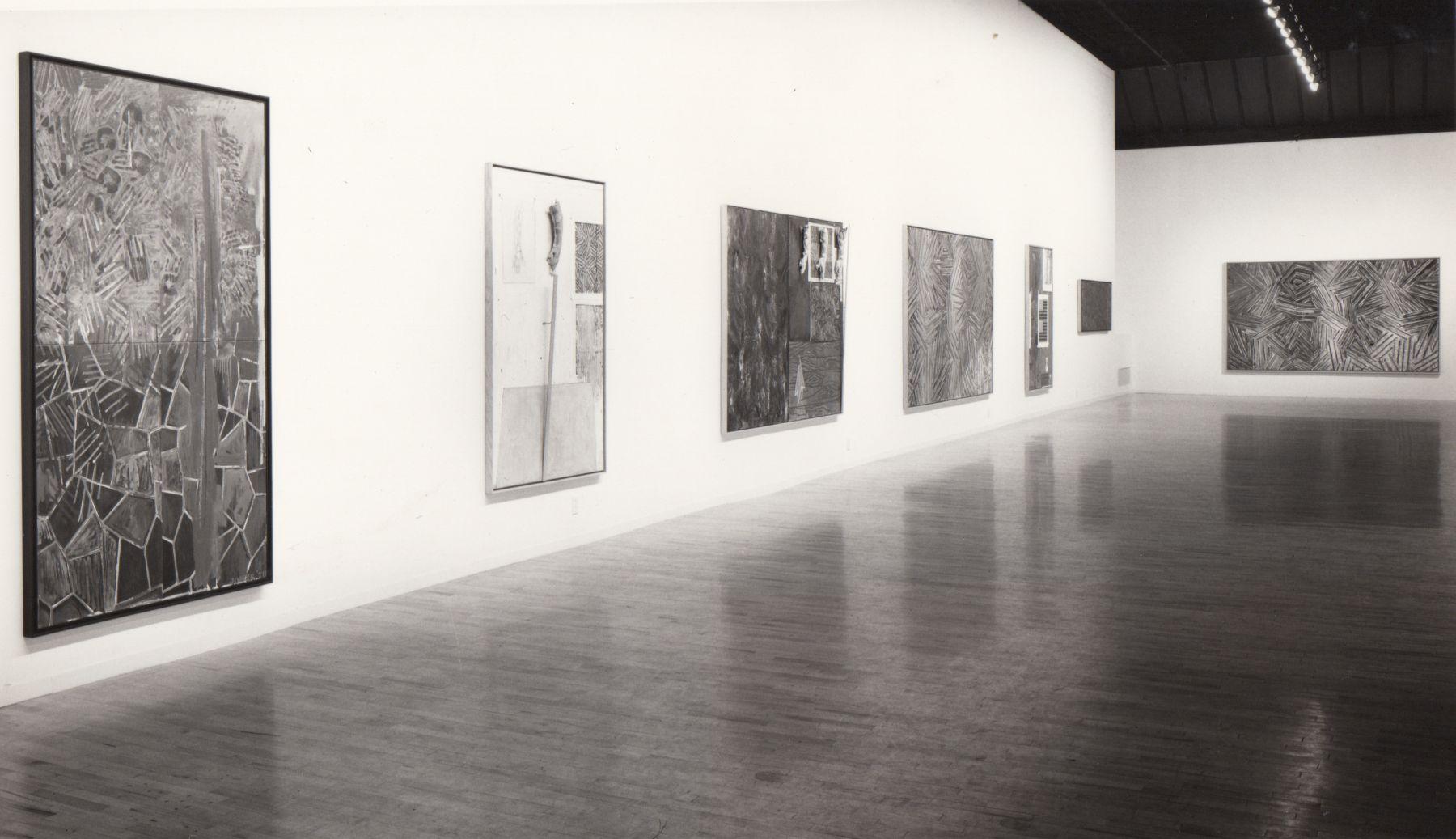 Installation view, Jasper Johns, 142 GREENE