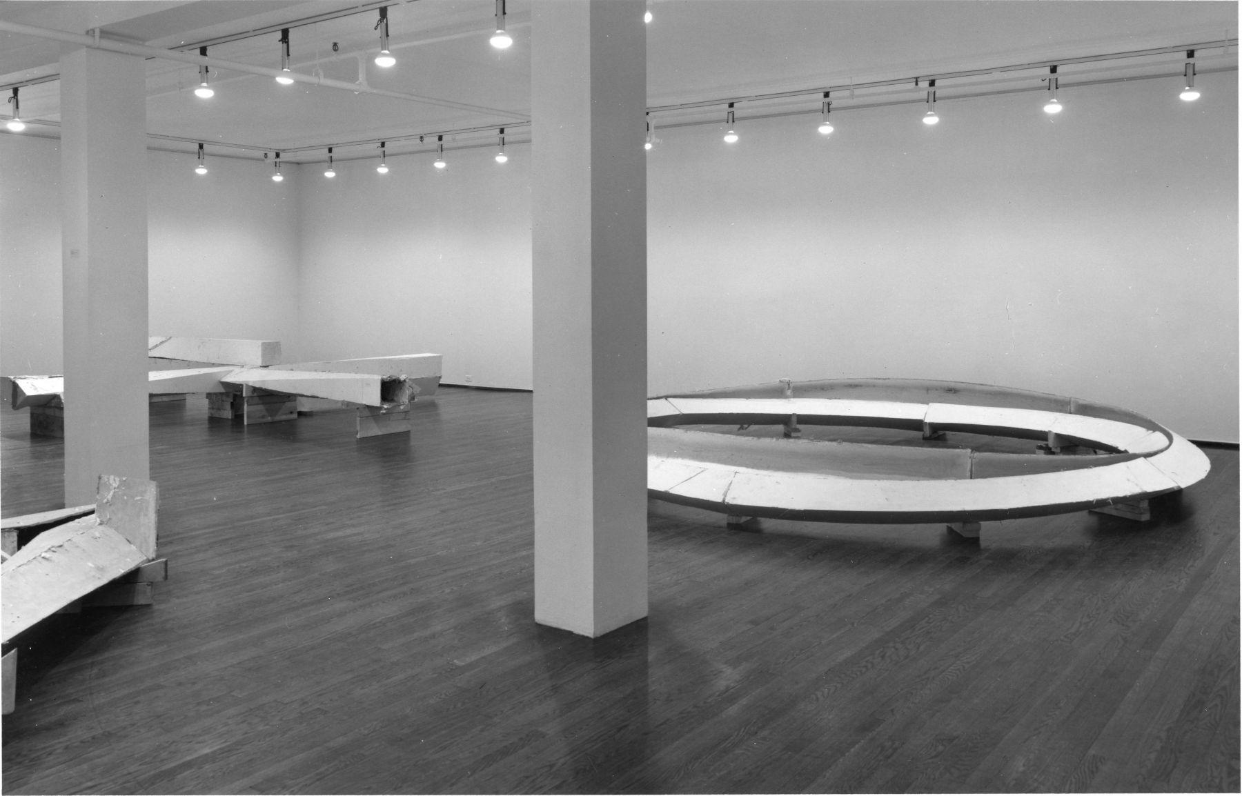 Installation view, Bruce Nauman, 420 WEST BROADWAY