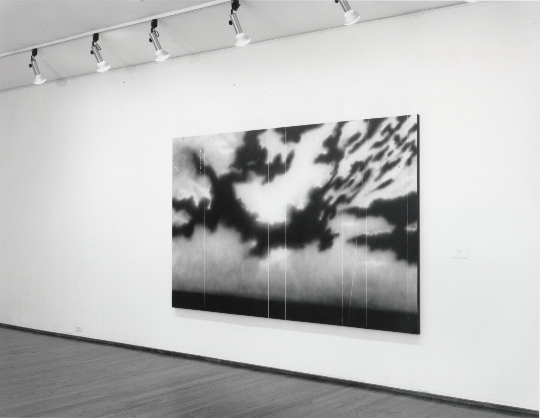 Installation view, Ed Ruscha, 420 WEST BROADWAY.