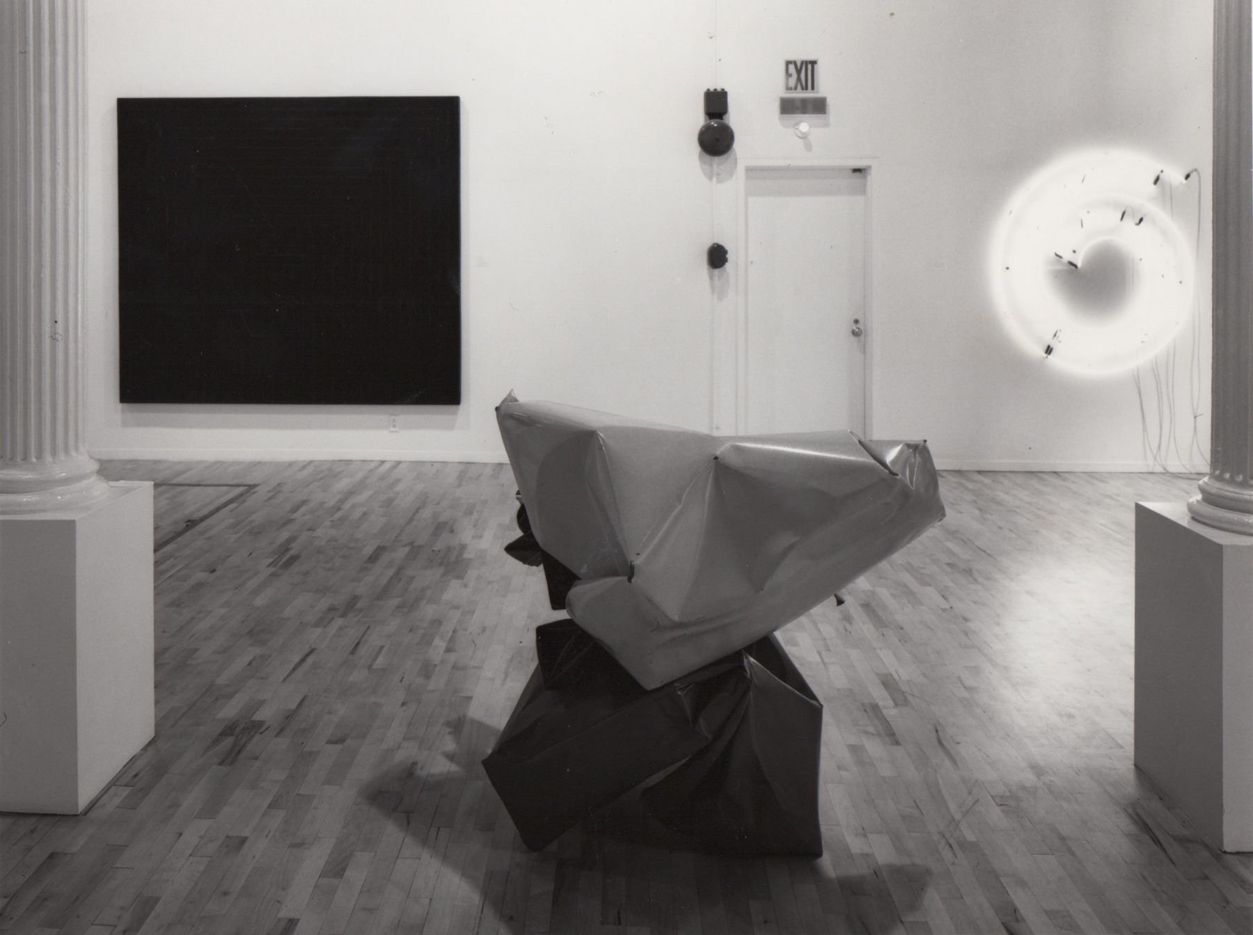 Installation view, 25th Anniversary Exhibition of Leo Castelli, 142 GREENE.