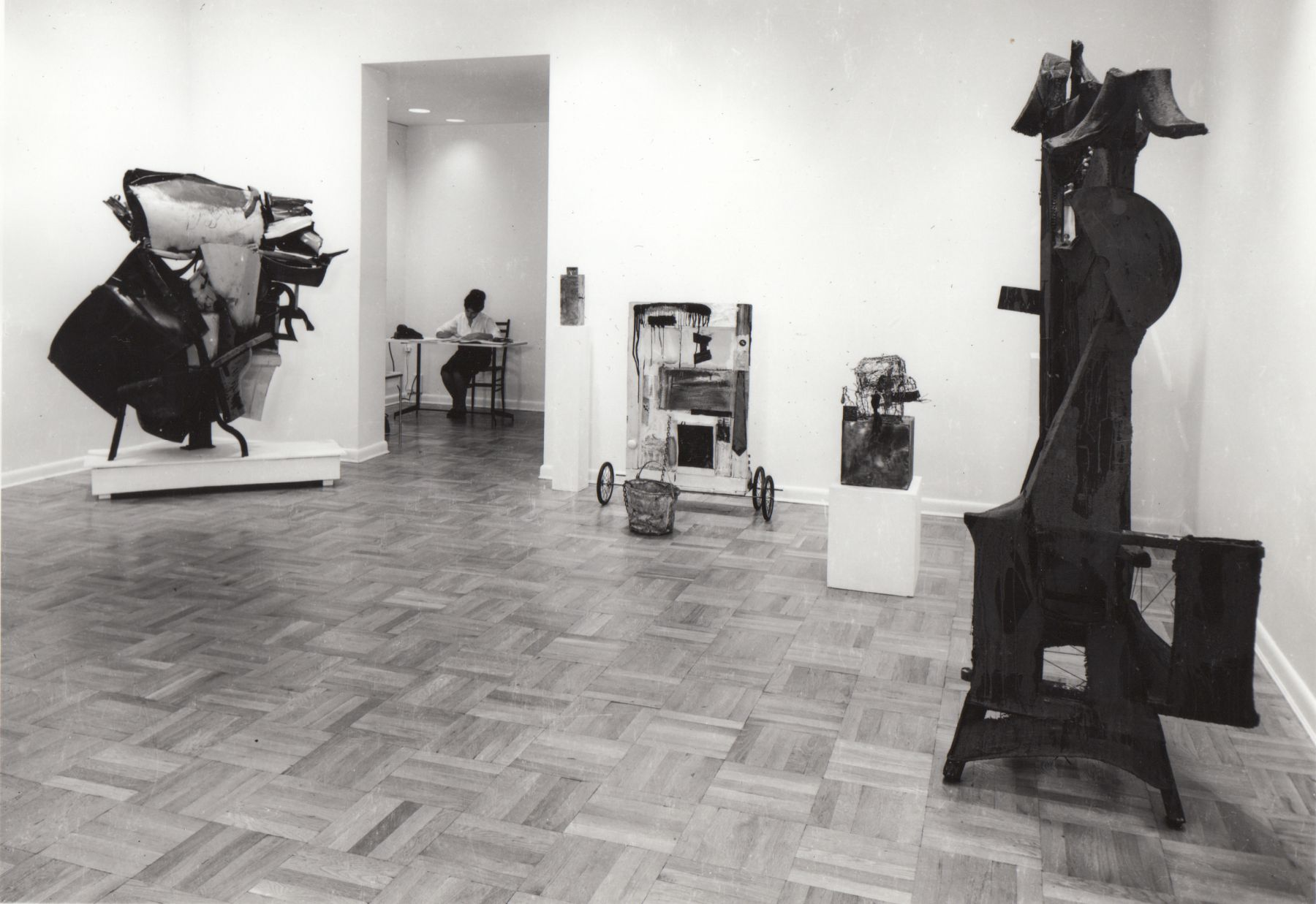 Installation view, Group Exhibition: Work in Three Dimensions, 4 EAST 77.