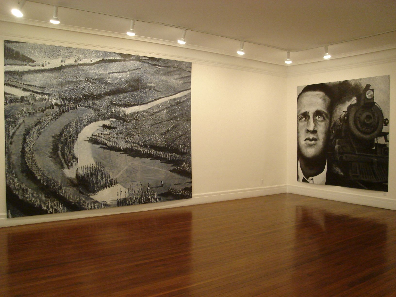 Installation view, Robert Morris: 1934 and Before, 18 EAST 77