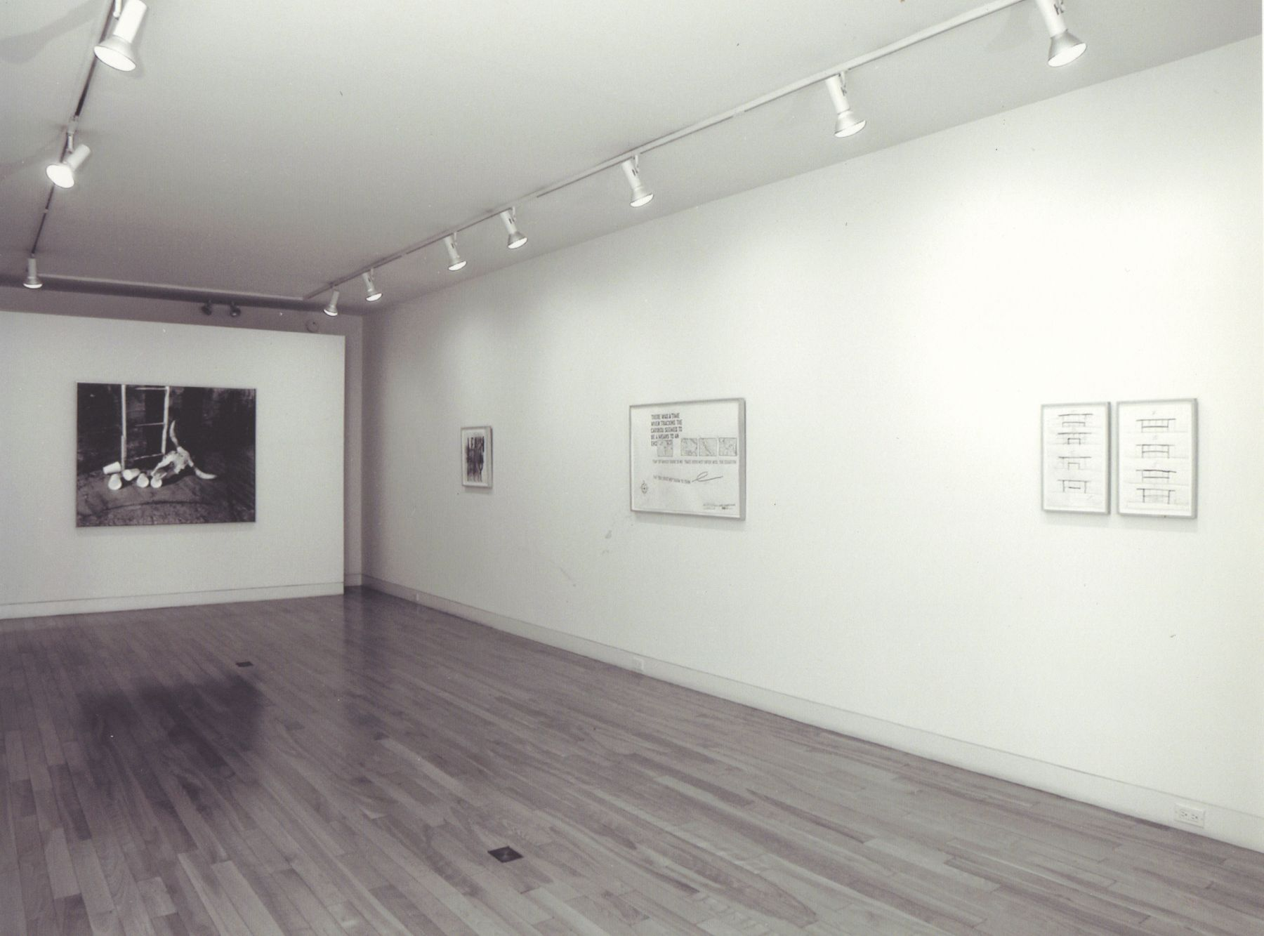 Installation view, Recent Works on Paper, 59 EAST 79