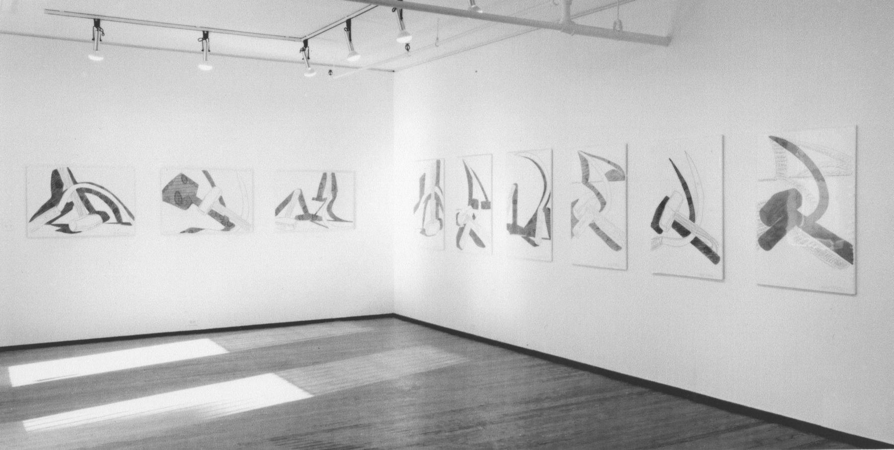 Installation view, Andy Warhol, 420 WEST BROADWAY.