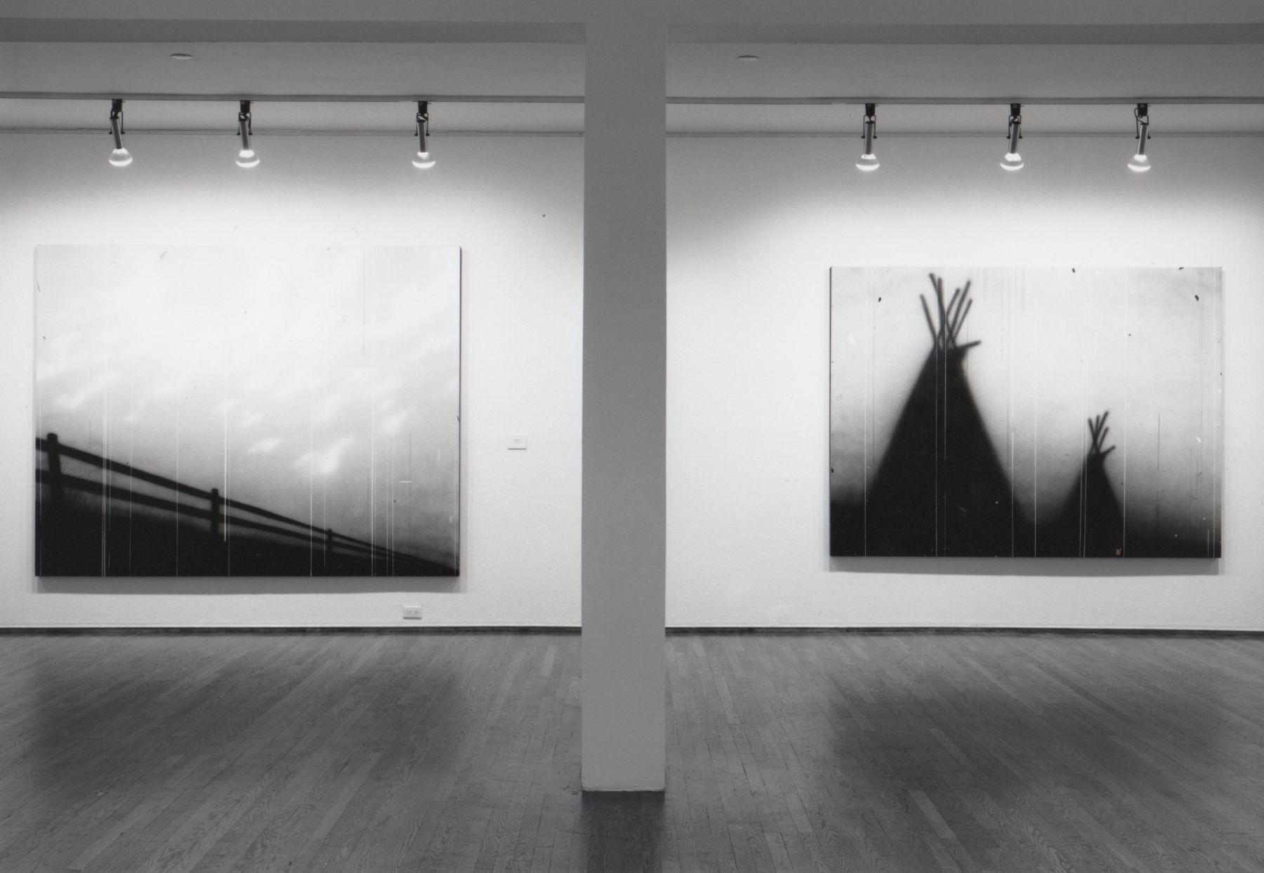 Installation view, Ed Ruscha, 420 WEST BROADWAY