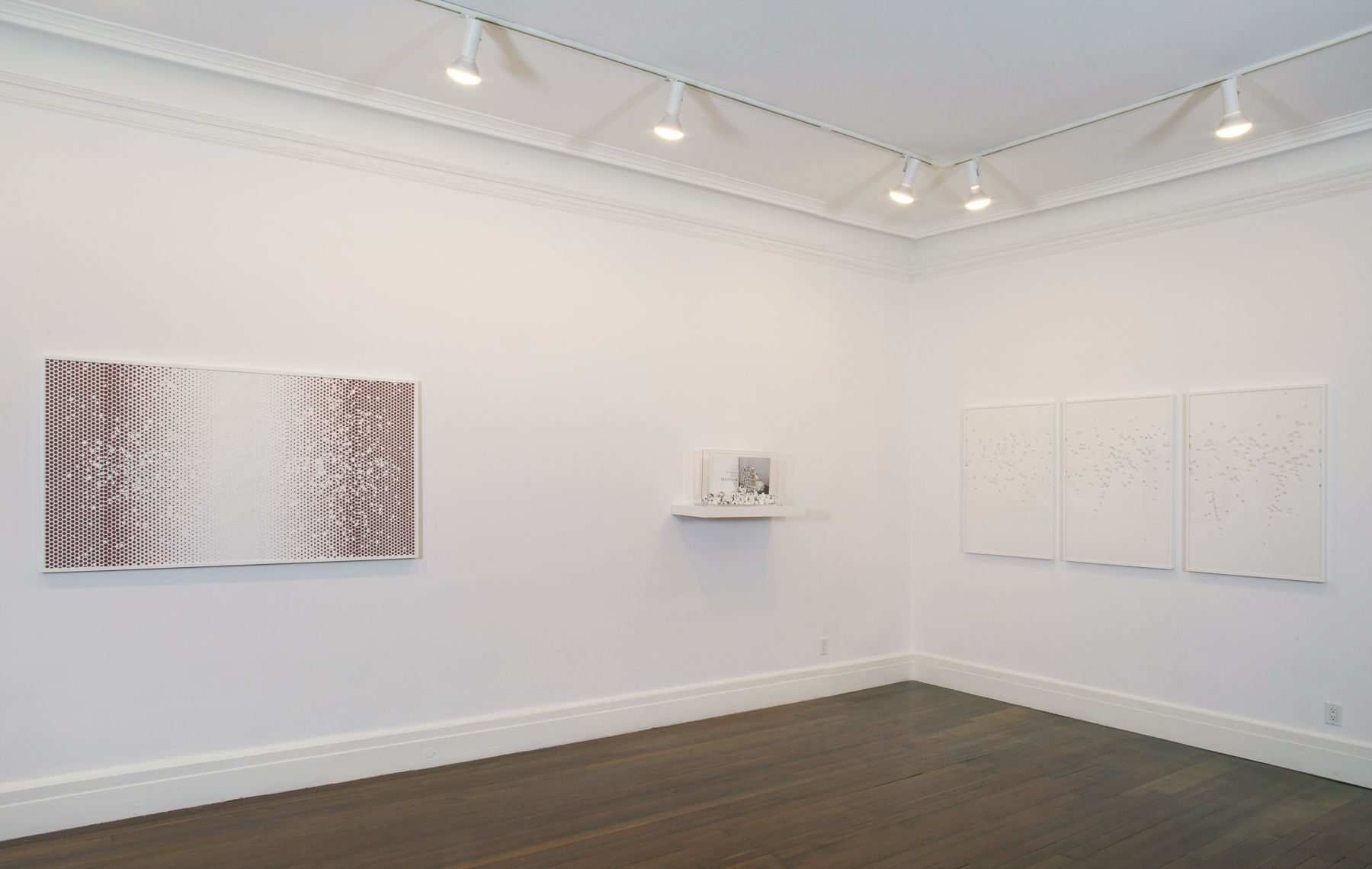 Installation view, Noriko Ambe: Cutting – Without an Outline, 18 EAST 77