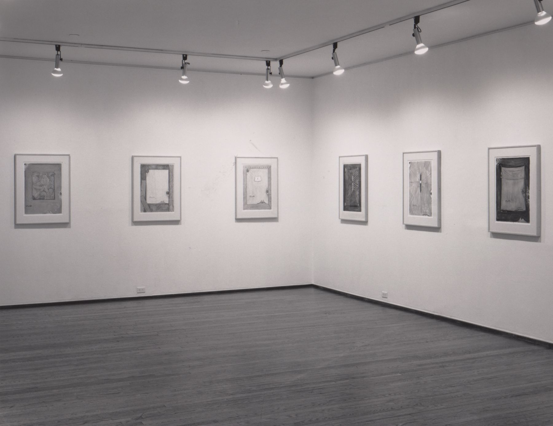 Installation view, Jasper Johns, 420 WEST BROADWAY.