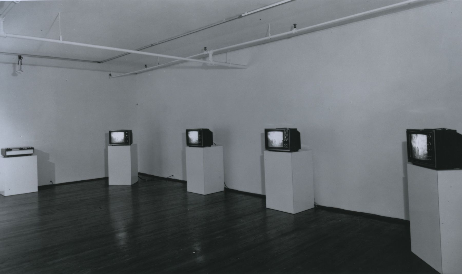 Installation view, Video Cassettes, 420 WEST BROADWAY.