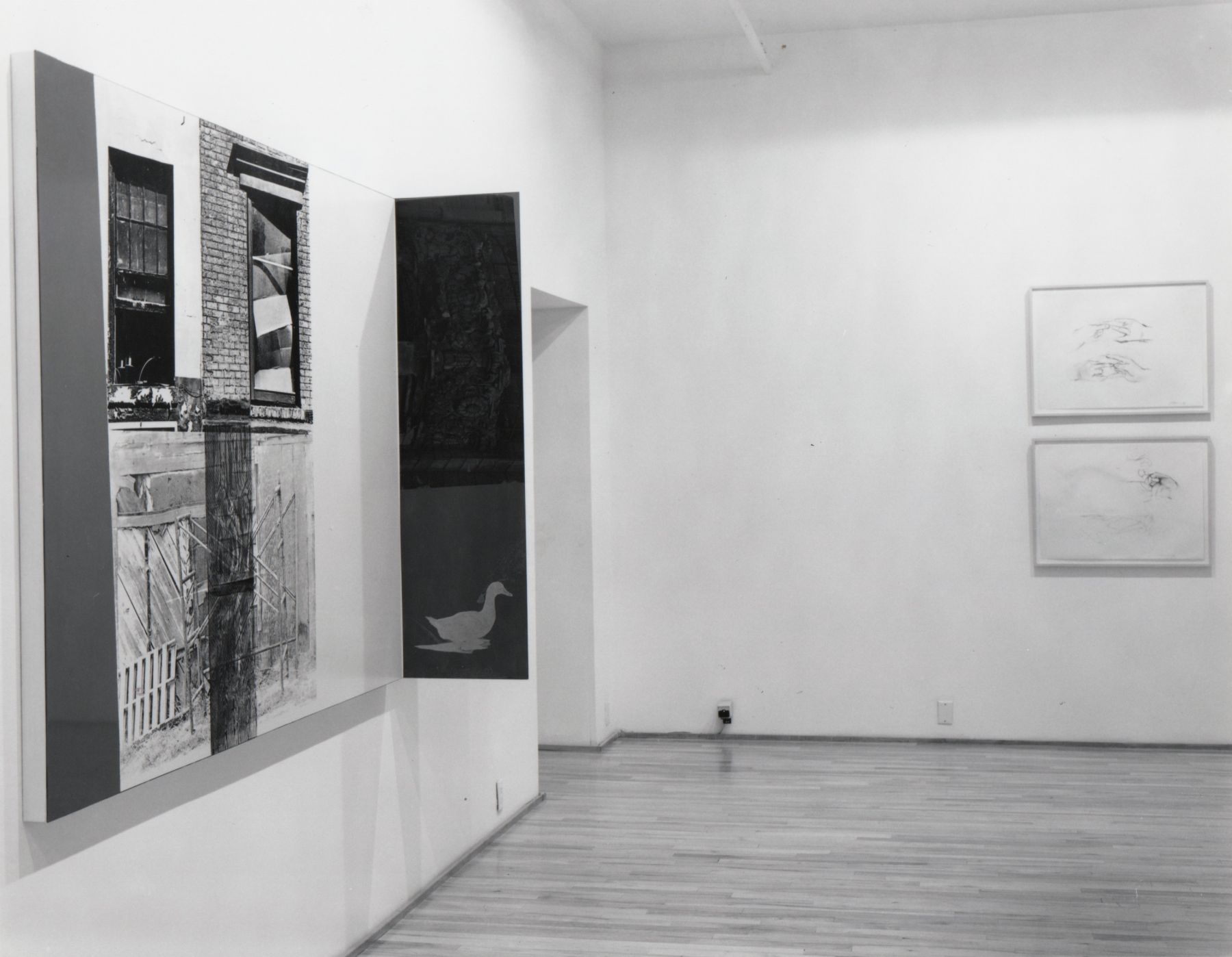 Installation view, Group Exhibition, 578 BROADWAY