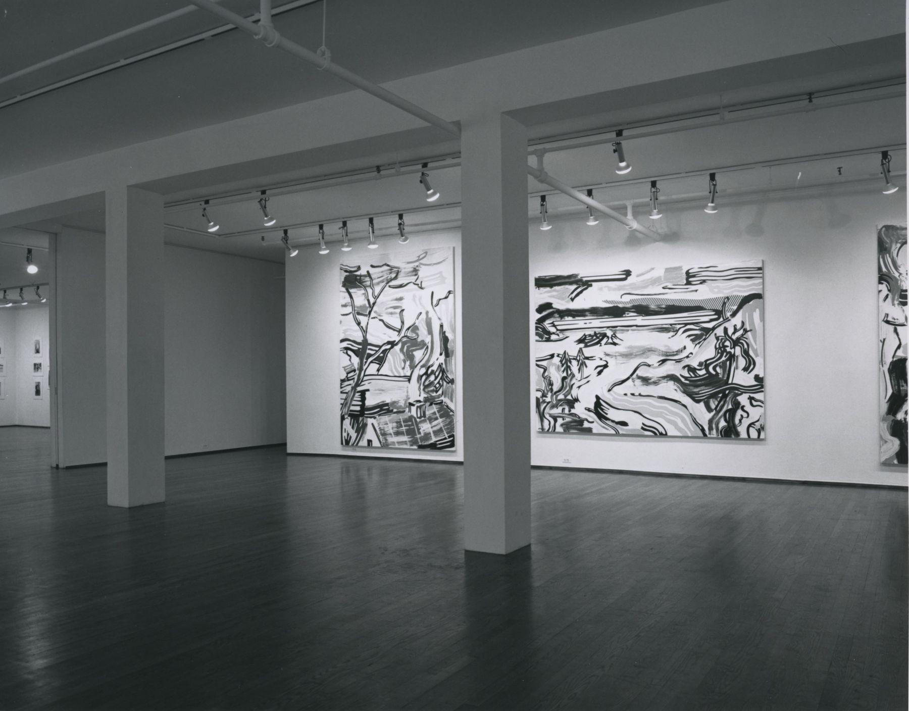 Installation view, Roy Lichtenstein, 420 WEST BROADWAY