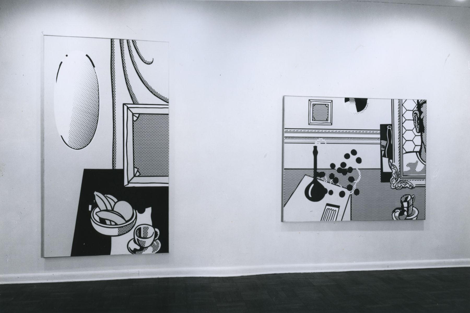 Installation view, Roy Lichtenstein: Still Lifes, 4 EAST 77