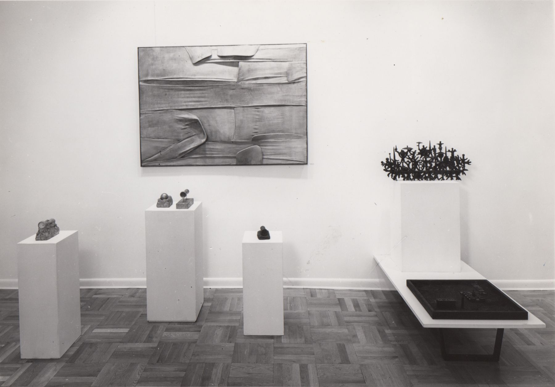 Installation view, Work in Three Dimensions, 4 EAST 77