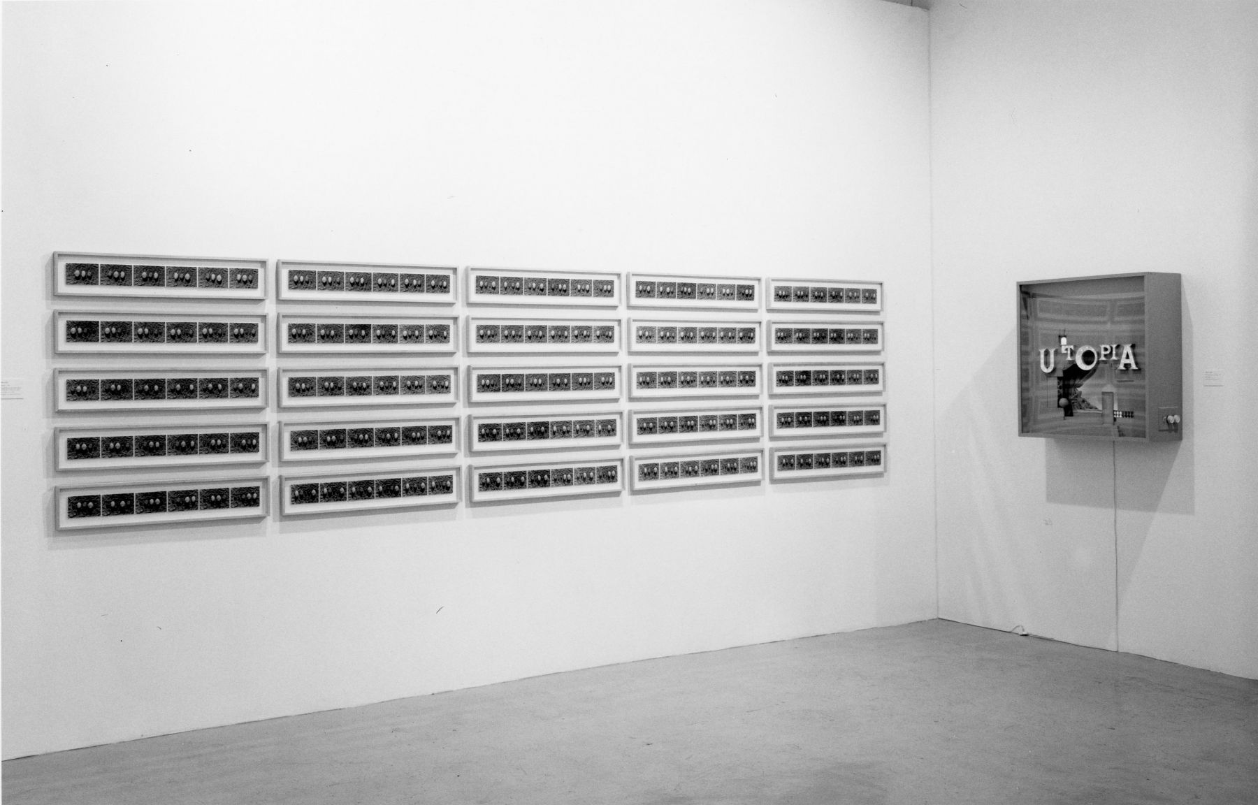 Installation view, 25th Anniversary Exhibition of Leo Castelli, 142 GREENE