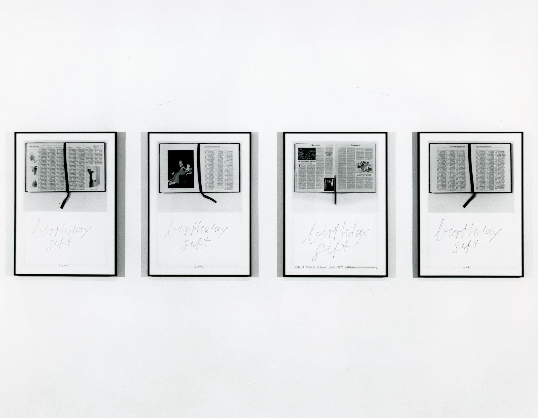 Installation view, Hanne Darboven, 142 GREENE.