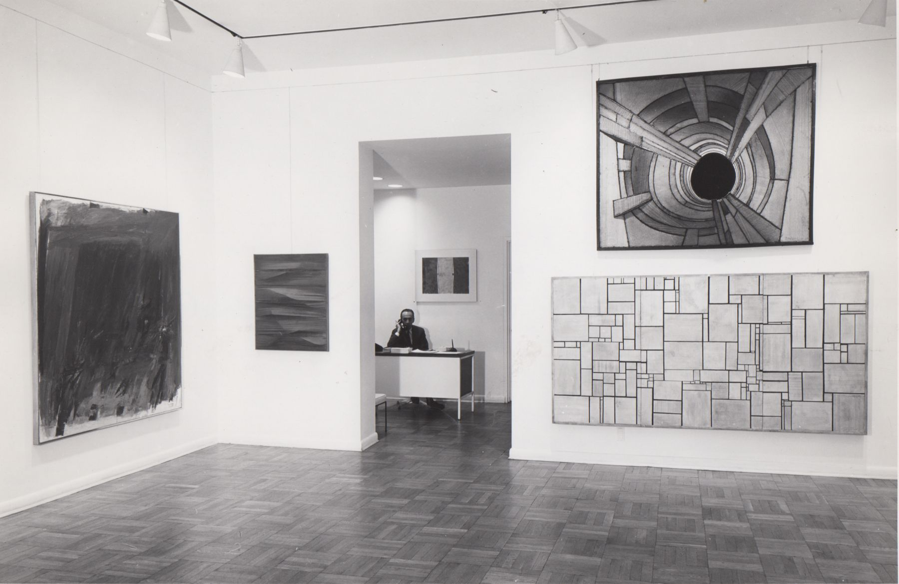 Installation view, Group Exhibition: Summary 1959 – 1960, 4 EAST 77.