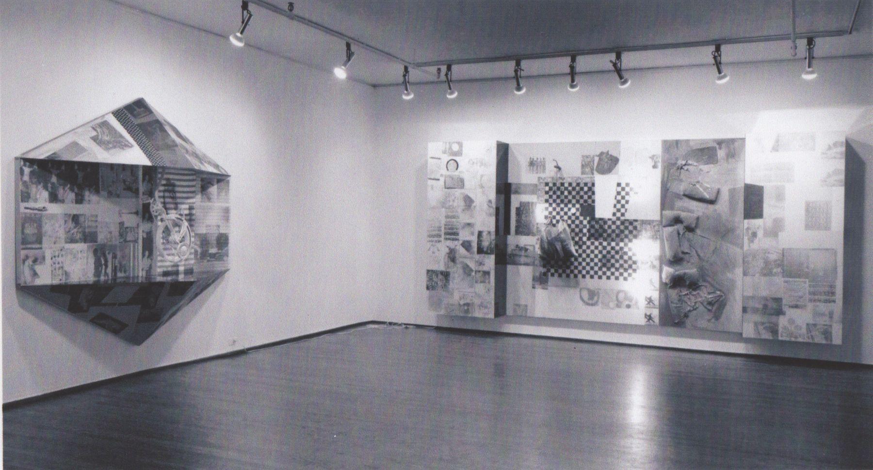 Installation view, Robert Rauschenberg, 420 WEST BROADWAY.