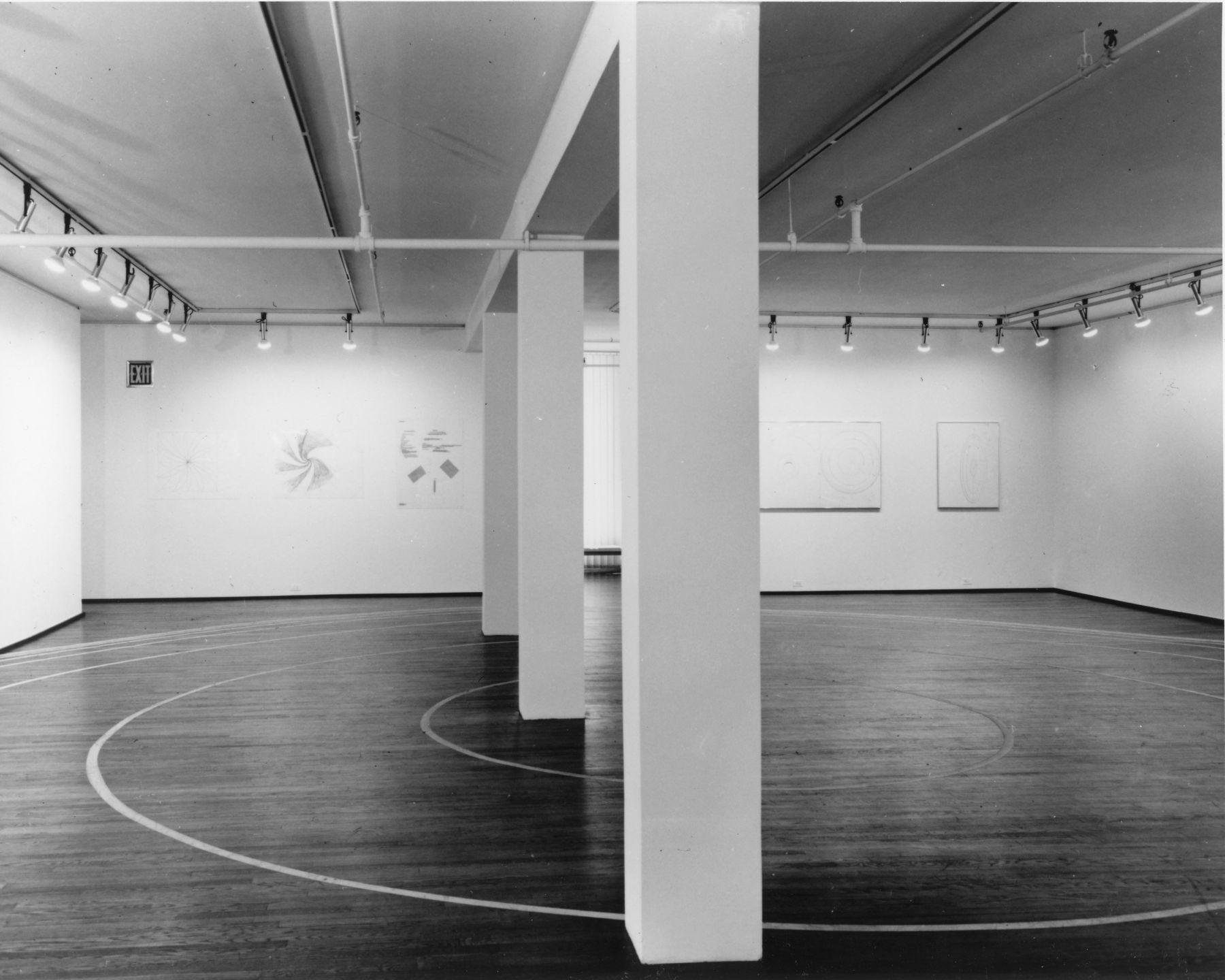 Installation view, Bruce Nauman: Cones / Cojones, 420 WEST BROADWAY