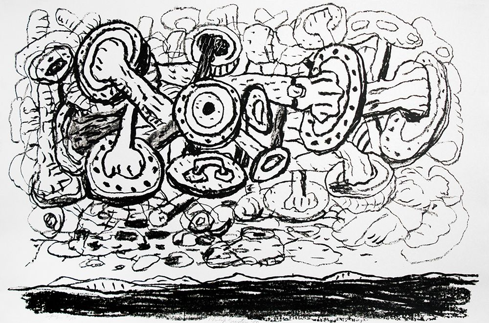 Sky, 1983 lithograph