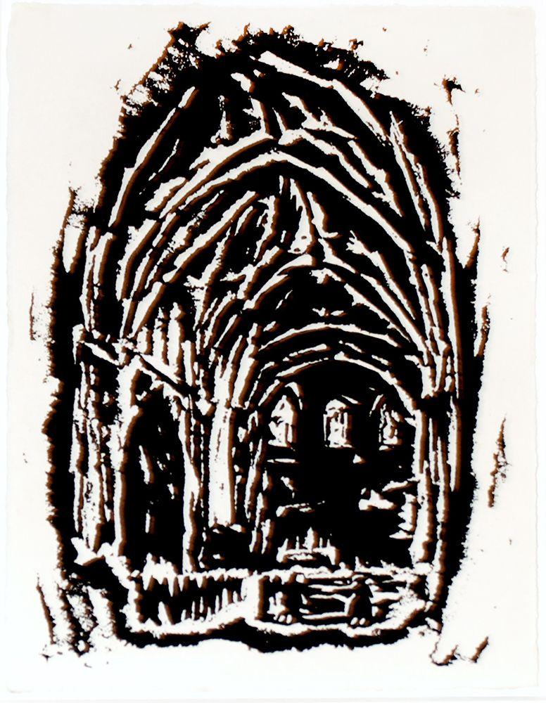 Inneres des Domes zu Munster, 1917