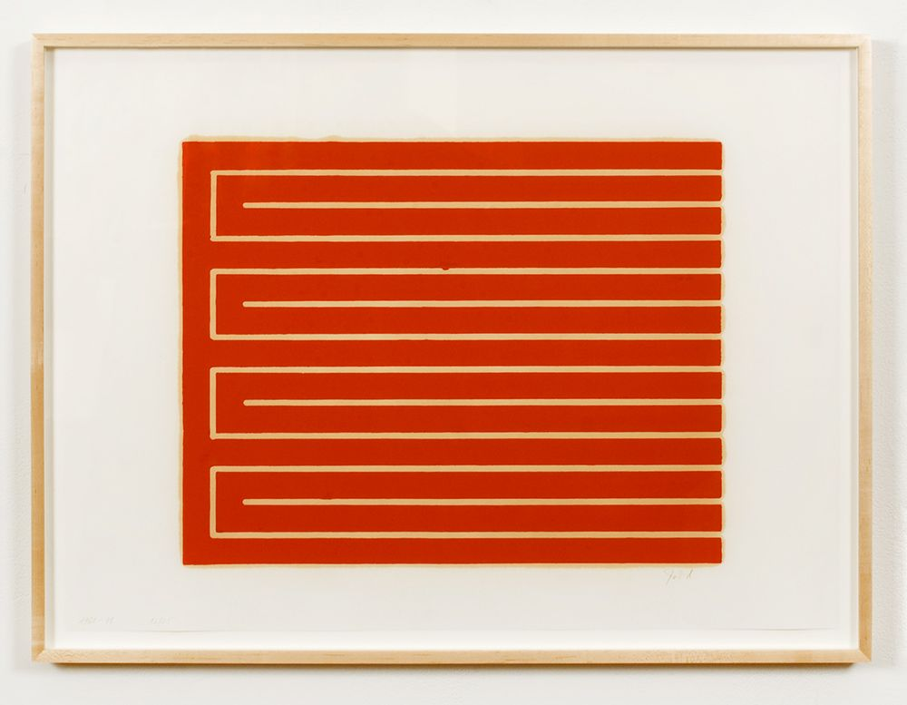 Untitled (#32), 1961-79 , color woodcut