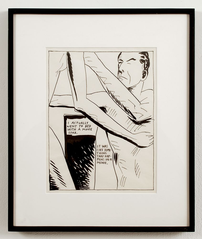 Untitled (I actually went to bed...), 1987