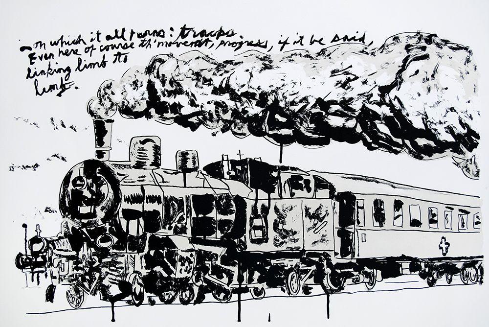 Untitled (Train), 2018