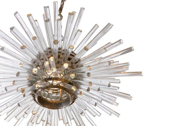 "Bakalowits & Sohne ""Miracle"" Glass Rod Sputnik Chandelier"