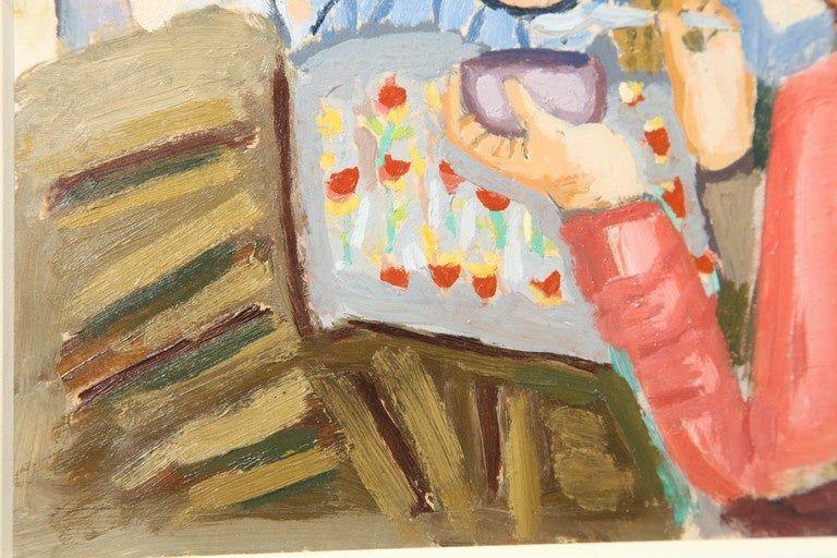 Painting by Gino Cosentino