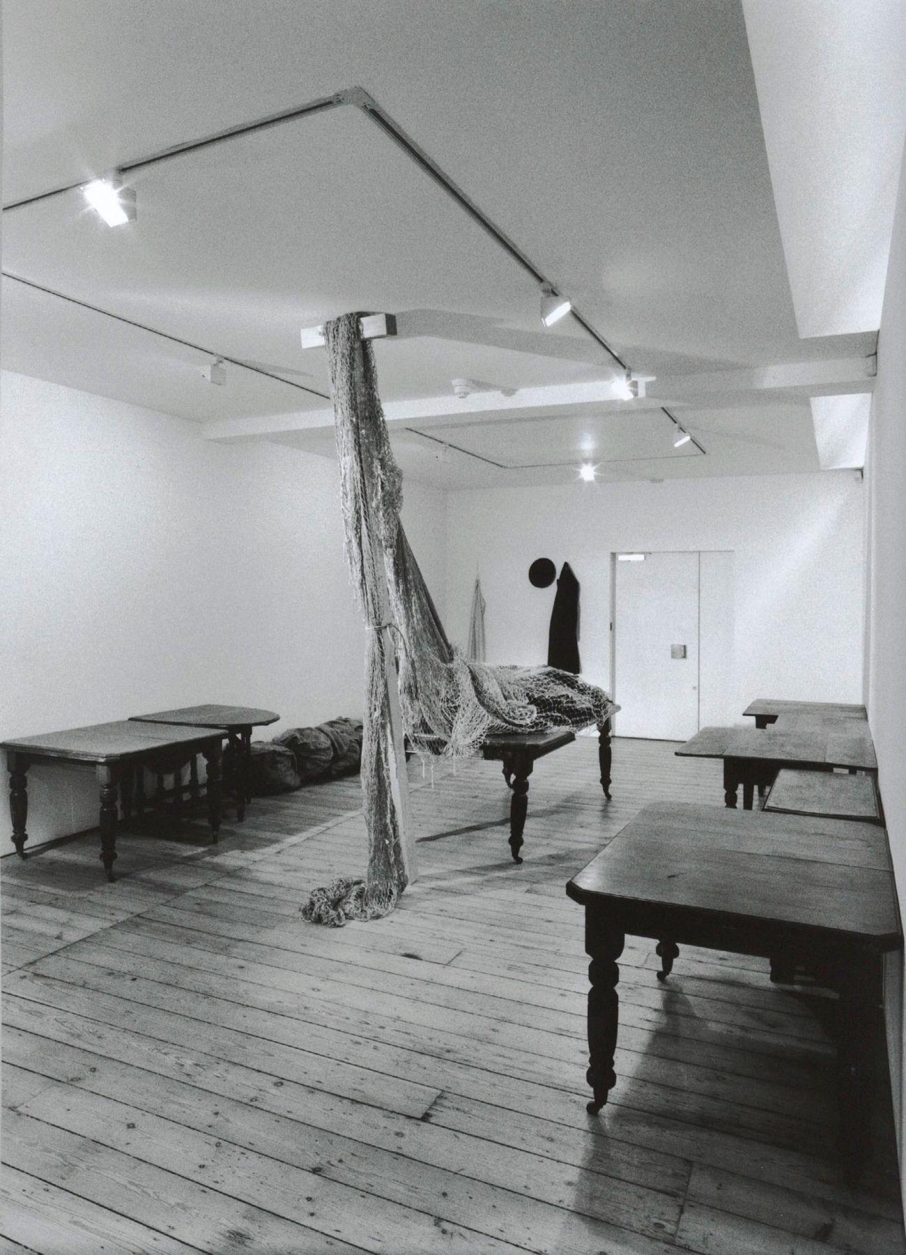 jannis kounellis exhibition view, 2004