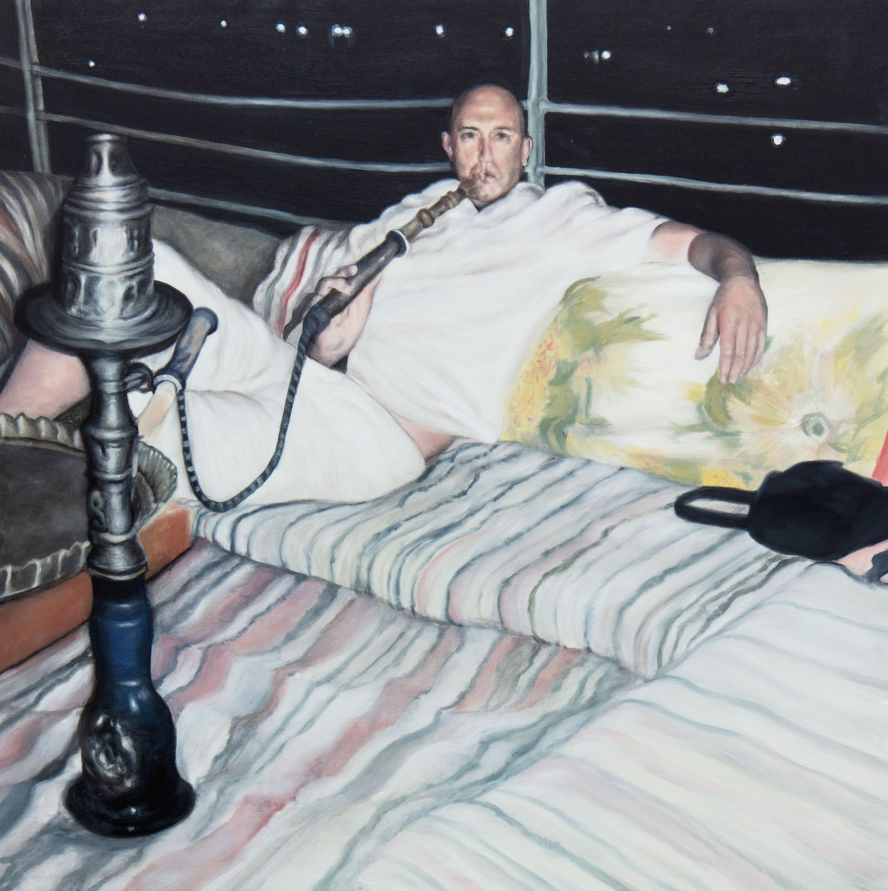 myspace 2018 oil on canvas