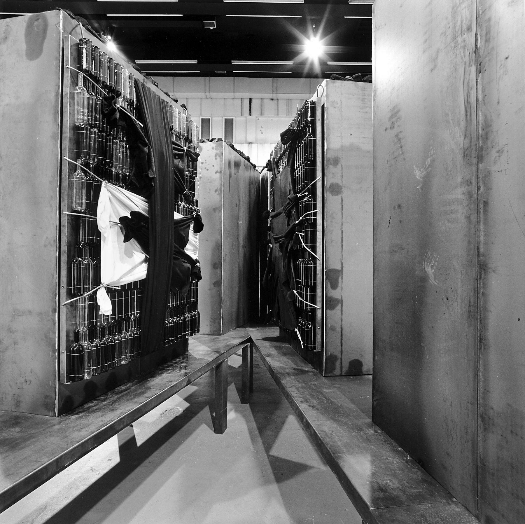 jannis kounellis exhibition view, 2010
