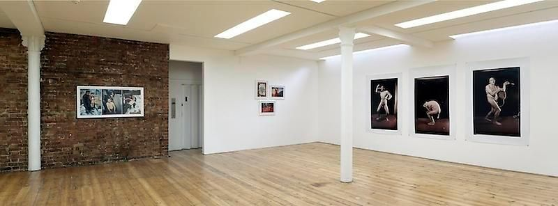 triptych exhibition view, 2012