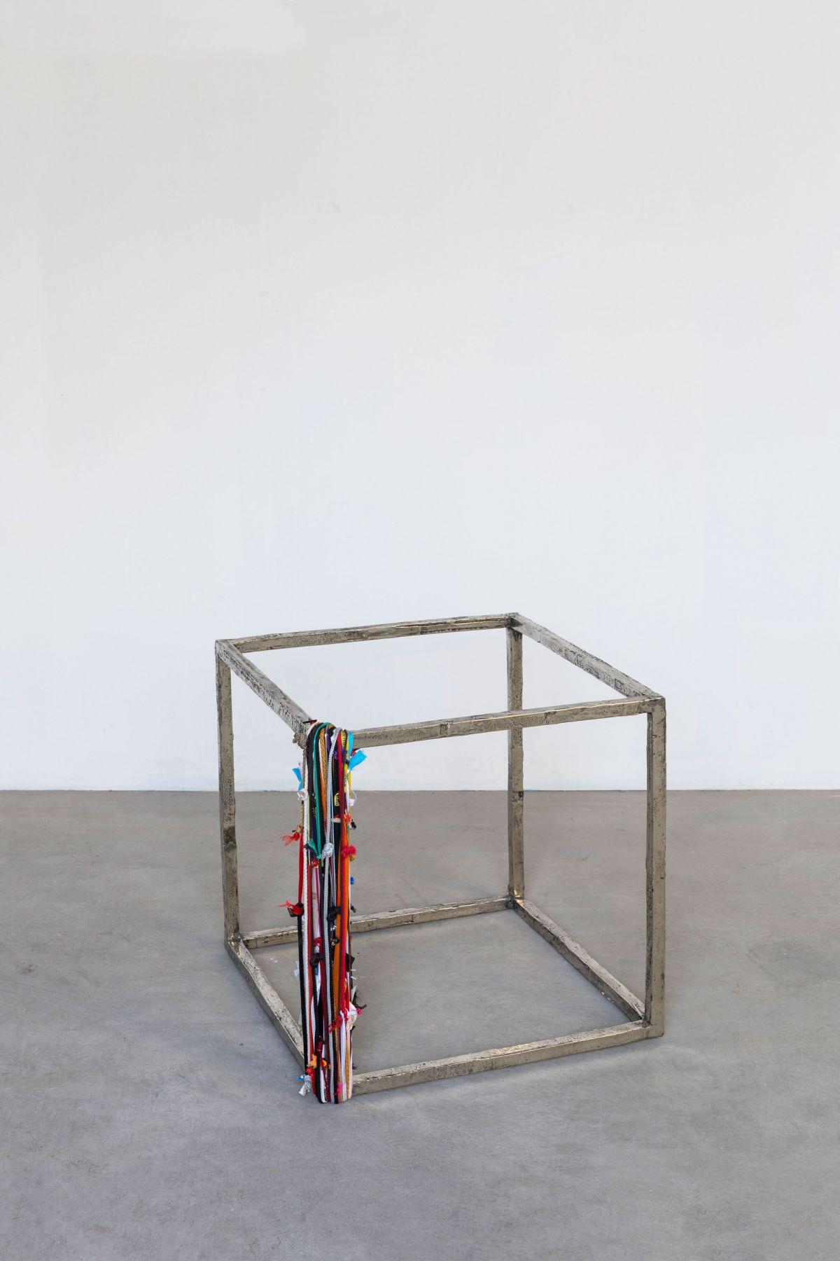 Cubo con perimetro, 2018