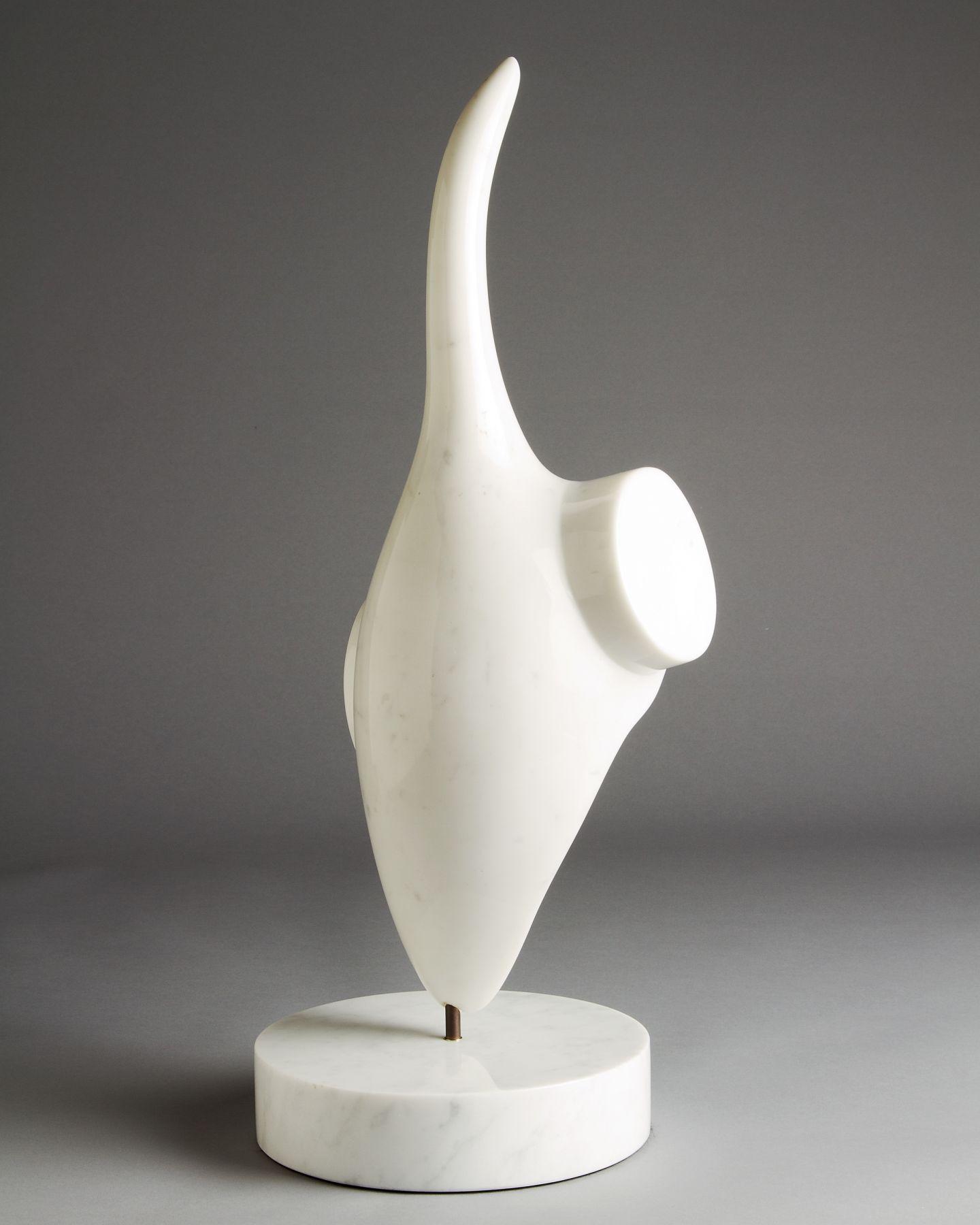 Charlie Kaplan, White Pointer, 2000, rear view