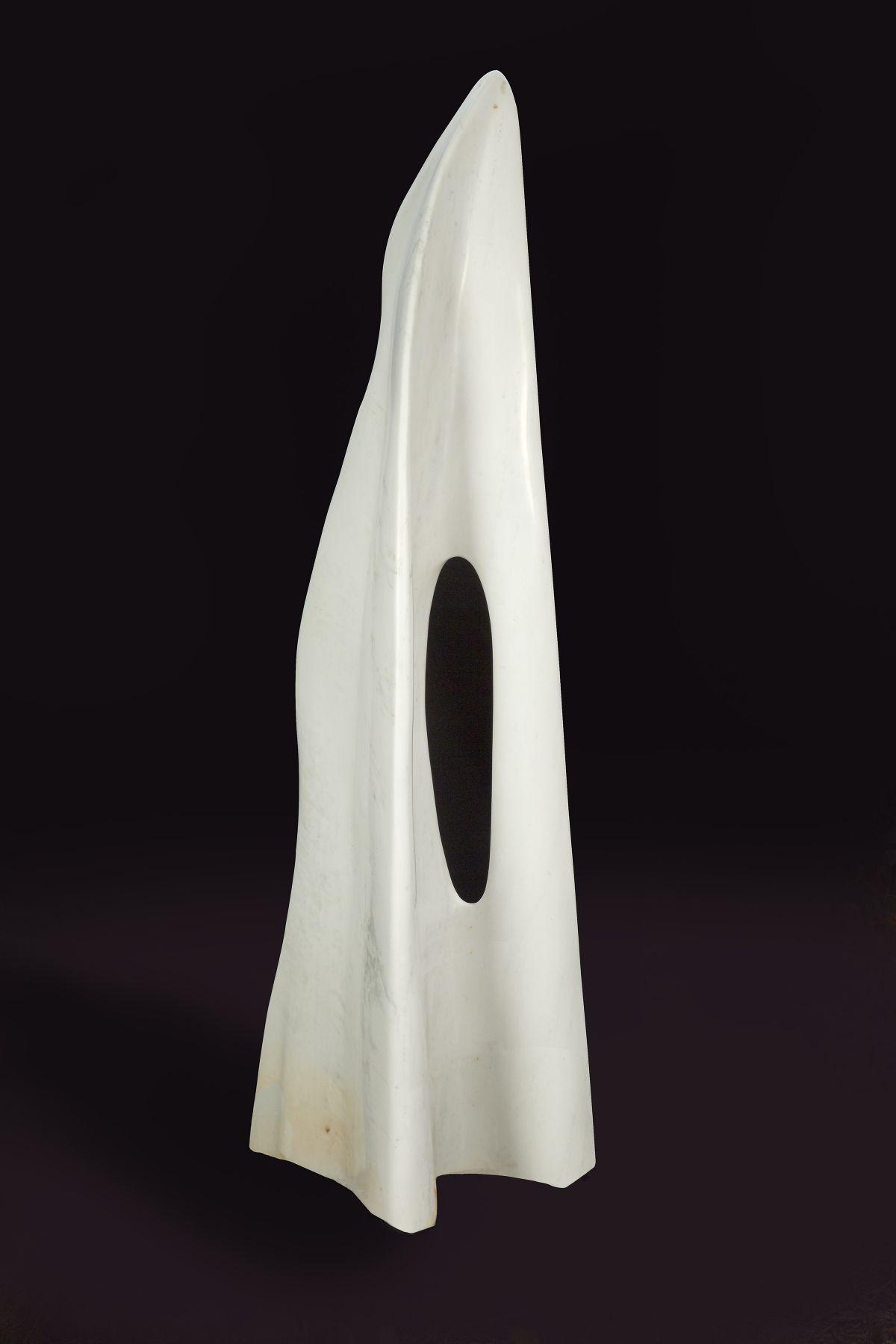 Soaring, 2012 Bianco Puro Carrara Marble
