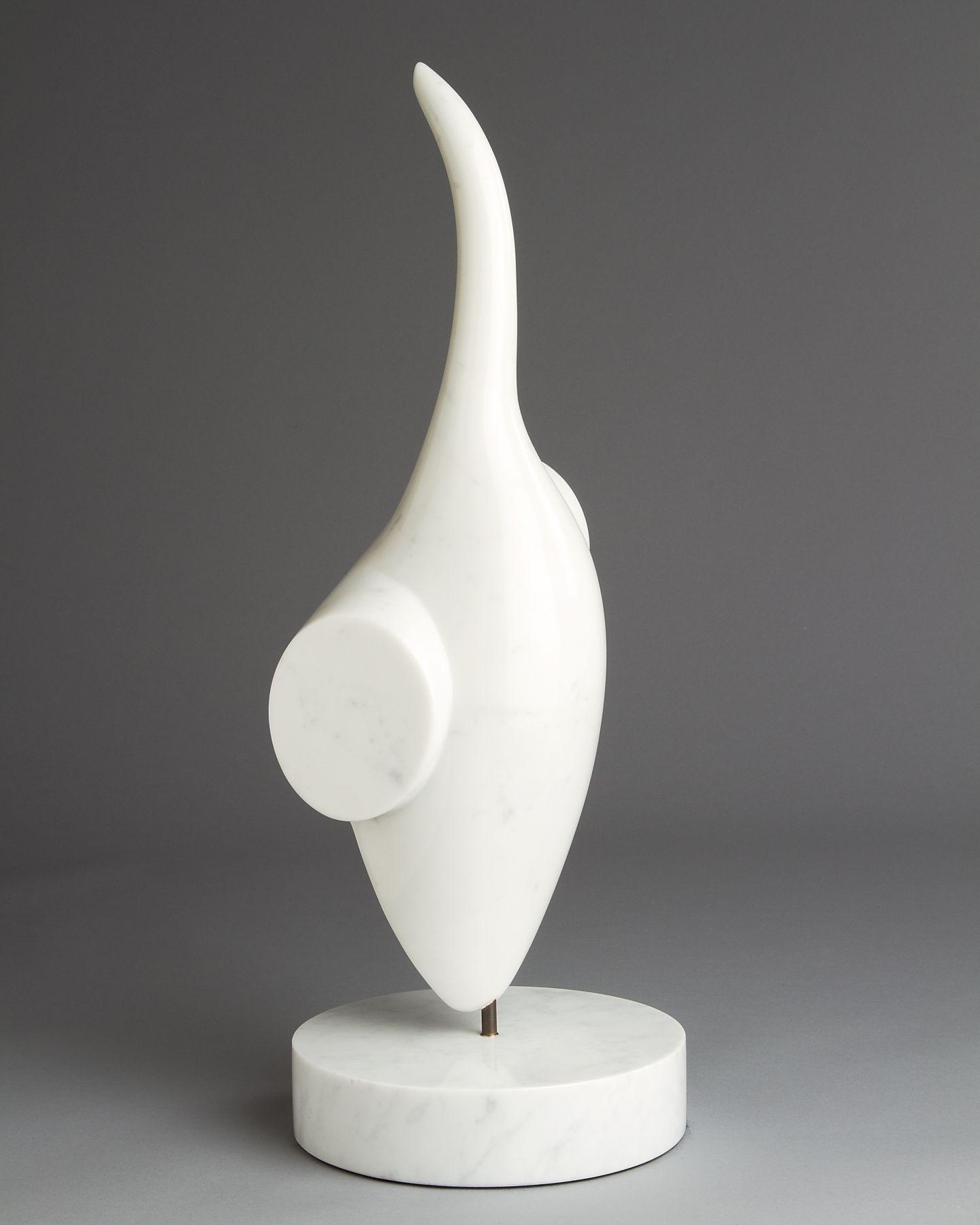 Charlie Kaplan, White Pointer, 2000, side view