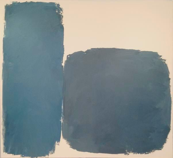 Ray Parker, Untitled (#756), 1961, oil on canvas, 79 x 87 in.