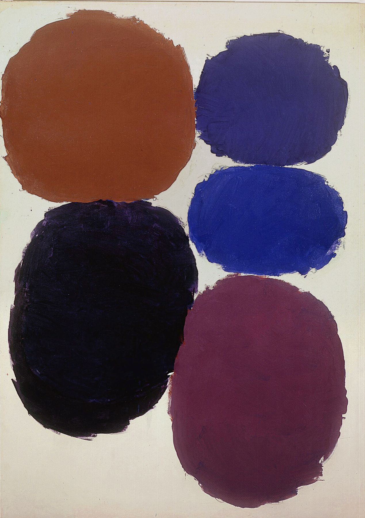 Ray Parker, Untitled, 1959, oil on canvas, 60 x 50 in.