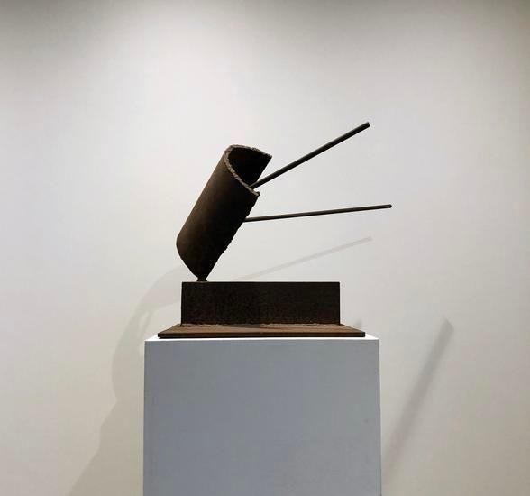 Untitled, c. 1969, steel, 26 x 18 x 26 in.