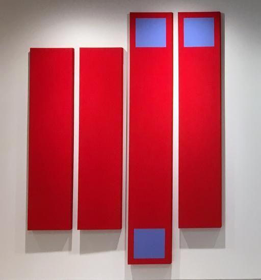 Doug Ohlson, Adrian, 1968, acrylic on canvas, 90 x 68 in.