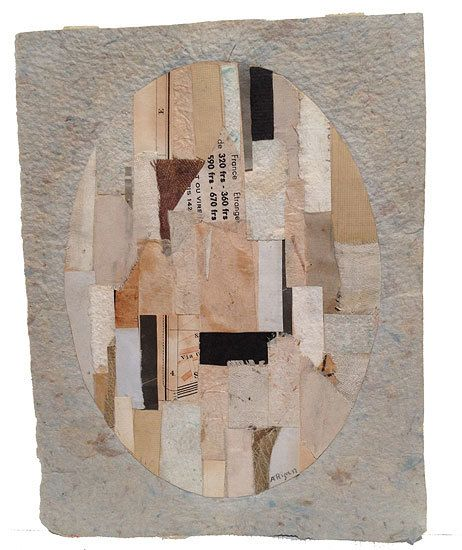 Anne Ryan, Untitled (#478), c. 1948-54, collage on paper, 7 1/4 x 5 5/8 in.