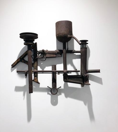 Untitled, 1967, steel, 25 x 30 x 9 in.
